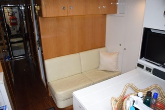 Crew lounge starboard and companionway