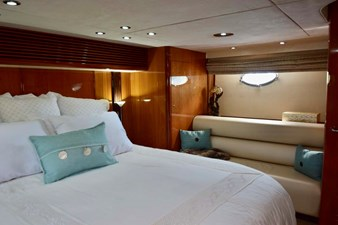 Master Stateroom View to Port Couch