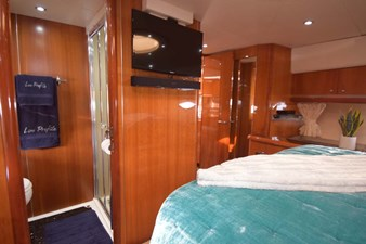 V-Berth VIP View to Head and Flat Screen TV