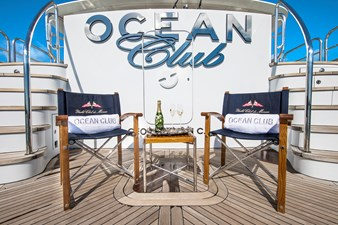 OCEAN CLUB 38 BEACH CLUB: OCEAN CLUB 164' 2009 TRINITY TRI-DECK MOTOR YACHT