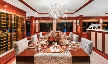 OCEAN CLUB 25 DINING: OCEAN CLUB 164' 2009 TRINITY TRI-DECK MOTOR YACHT