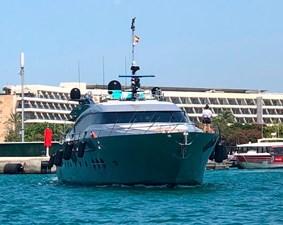 Palmer-Johnson-PJ120-Escape II-Motor Yacht-Bow-View-2