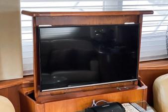 Retractable TV