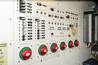 Below Deck Electrical Panel