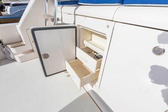 Cockpit Tackle Storage