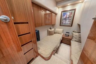 Starboard Stateroom - Side by Side Single Bunks
