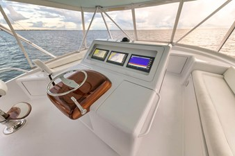 Flybridge Starboard Seating