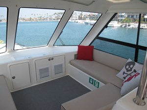 Enclosed Flybridge