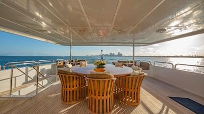 Upper Deck exterior dining
