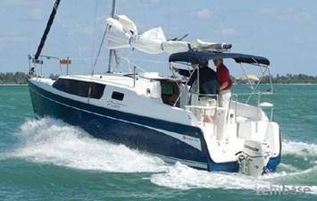 Kata Amiga 1 Kata Amiga 2012 HUNTER Edge 27 Motorsailor Yacht MLS #267038 1
