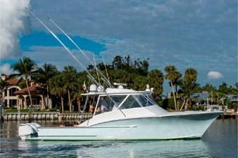 43 Custom Carolina Cinco Boatworks Profile