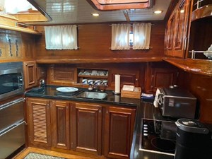 Large and spacious galley