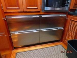 Four Sub Zero Drawer units, 2 are freezers