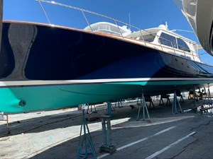 Blue Lobster 28 Hull hauled out