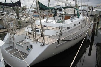 Transom and aft deck
