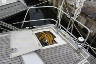 Starboard aft lazarette