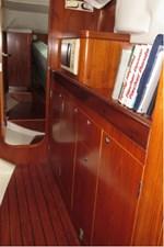 Galley storage inboard