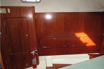 Starboard storage, aft cabin