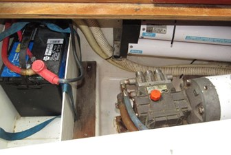 Watermaker and generator battery