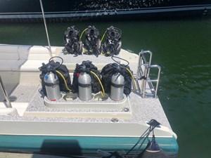 ILIAD  3 ILIAD  2002 MCMULLEN & WING Custom Dive Tender  Boats Yacht MLS #267396 3