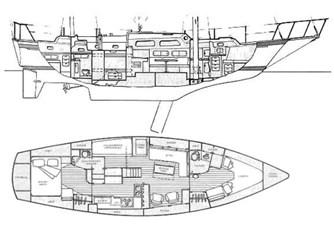 Irwin 46 Center Cockpit Ketch - Rythm - 116