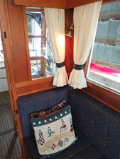 Port settee looking aft