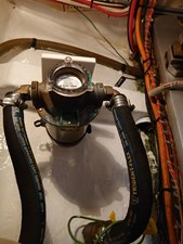 Engine: Groco raw water strainer