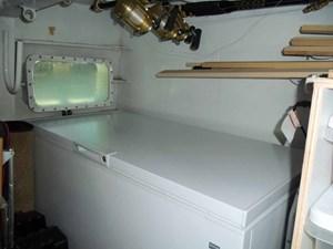 Lazarette chest freezer