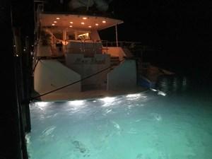 MON SHERI 89 New underwater lights