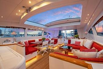 Vanish 92 Mangusta Motor Yacht  Saloon
