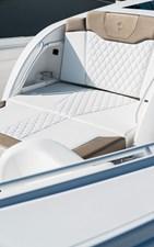 EdgeWater-Boats-370CC_Bow-Sunpad-Lounge