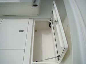 15. Starboard Saddle Box in Cockpit