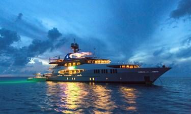Amarula Sun 57 Starboard View At Dusk