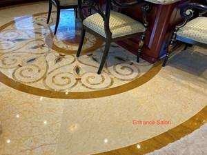 Salon-Entrance - Custom Marble Inlay 2
