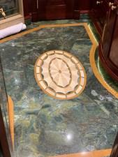 Marble Inlay Master Bath