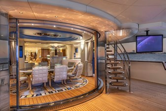 Dining Salon From Aft Deck