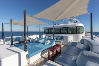 Foredeck Lounging Area