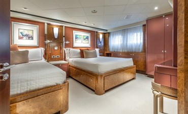 Ruby Twin Guest Stateroom