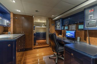 Captain's Office and Radio Room