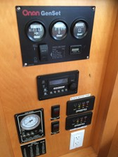 Generator and Invertor Control Panels