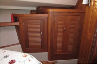 Storage in forward cabin