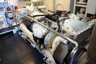 MY DESTINY 179 Engine Room