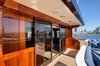 LADY BAHI 137 top deck access