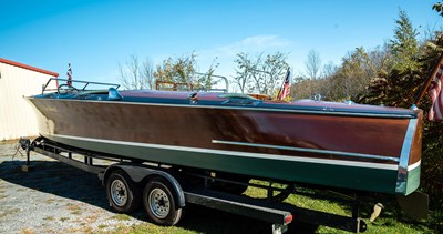 Kiss Me Kate 3 Kiss Me Kate 1930 GAR WOOD Triple Cockpit Runabout Boats Yacht MLS #268123 3