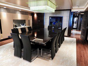 Formal Dining Salon, with Aquarium