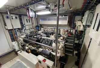 Kristin Lee 22 Engine room  2