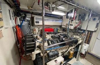 Kristin Lee 21 Engine room
