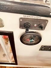 13.7 Little Red 1984 Grand Banks 49 MY upper helm rudder indicator
