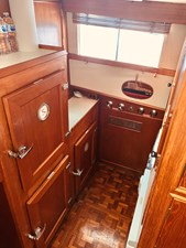 44 Little Red 1984 Grand Banks 49 MY Galley 1