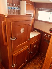 46 Little Red 1984 Grand Banks 49 MY Galley 3
